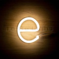 Lettre E Néon LED