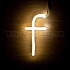Lettre F Néon LED
