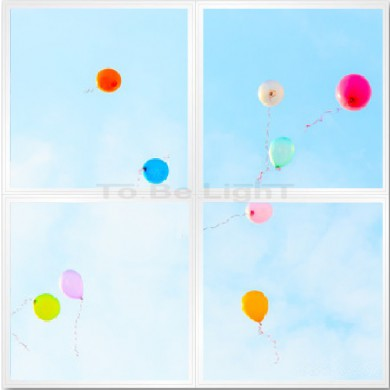 Pack 4 x Dalles LED OASIS 60x60   #ballons