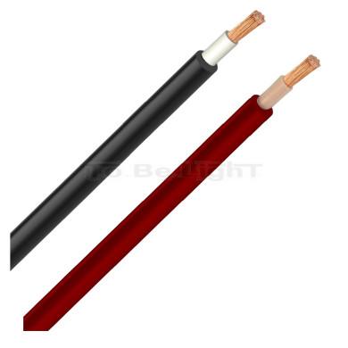 1m Câble 6/10/16 mm2 PV ZZ-F/RV-K Noir/ Rouge
