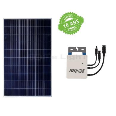Kit 1 x Panneau Solaire Photovoltaique Polycristallin 275W Class A + Onduleur 250W