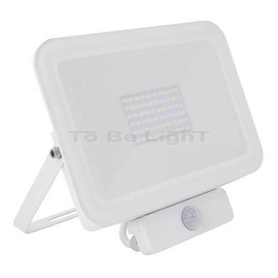 Projecteur LED + Détecteur de Mouvement PIR 50W