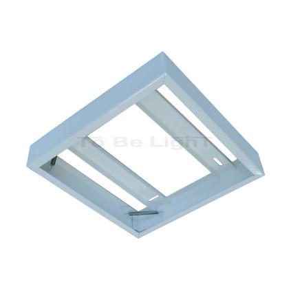Cadre saillie Dalle LED 60x60 préassemblé