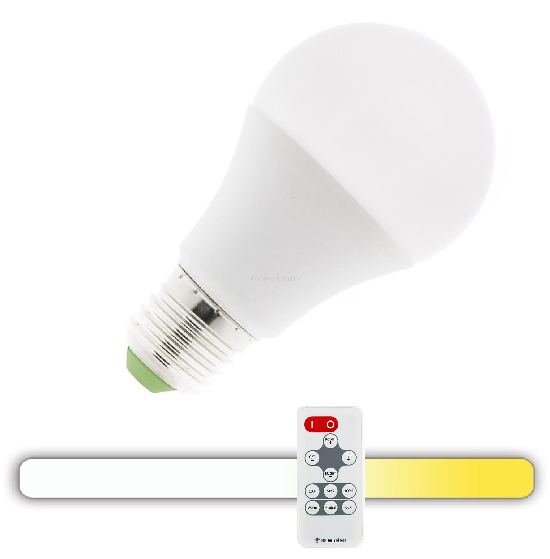 Led 9w Ampoule E27 Rf 3en1Télécommande FJTK1l3c