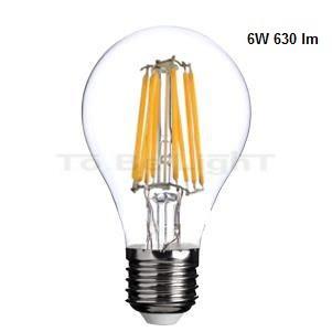Ampoule Classic E27 Variable Filament 6w Led A60 PkOXnN08w
