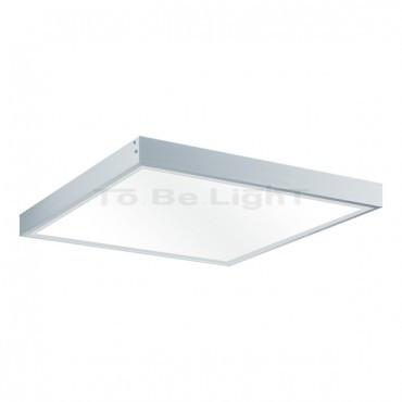 cadre de fixation pour dalle led 30x30 kit saillie mur ou plafond. Black Bedroom Furniture Sets. Home Design Ideas