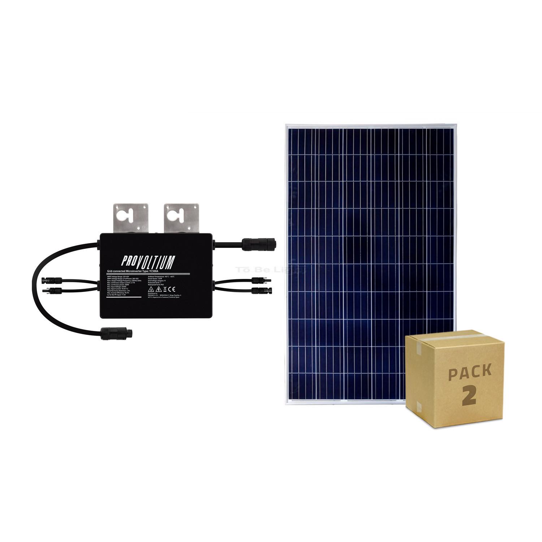 micro onduleur panneau solaire photovolta que polycristallin 500w. Black Bedroom Furniture Sets. Home Design Ideas
